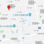 地下鉄・JRのWアクセス(地図)