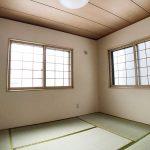 2面採光の和室(子供部屋)