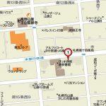 市電・JRのWアクセスの立地(地図)