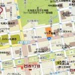 西11丁目駅徒歩8分の立地(地図)